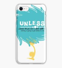 unless march for science iPhone Case/Skin