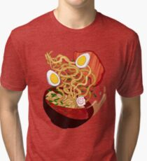 Ramen Bowl Tri-blend T-Shirt