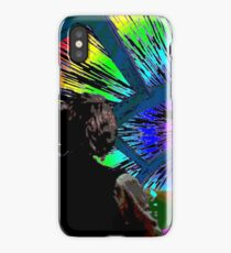 Millennium Falcon Hyperspace Recontextualized iPhone Case/Skin