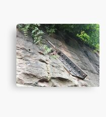 Sixth Street Embankment, Abandoned Pennsylvania Railroad Freight Embankment, Jersey City, New Jersey Canvas Print