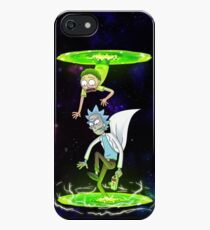 Rick and Morty (Portals) iPhone Case/Skin
