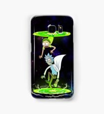Rick and Morty (Portals) Samsung Galaxy Case/Skin