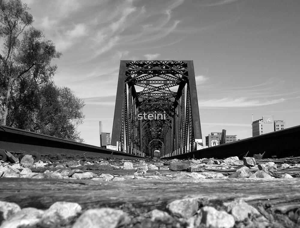 Old Train Bridge by steini