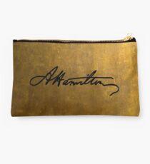 Hamilton Plain Signature  Studio Pouch