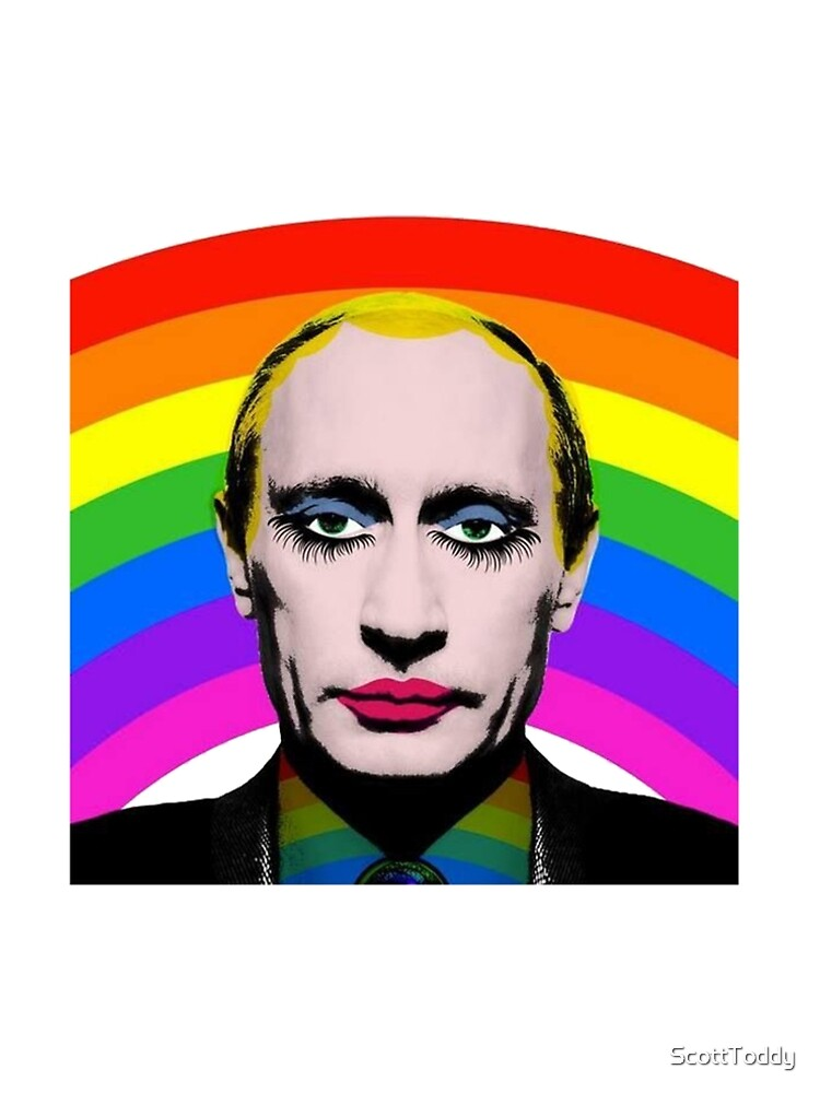 Vladimir Putin Payaso Gay de ScottToddy