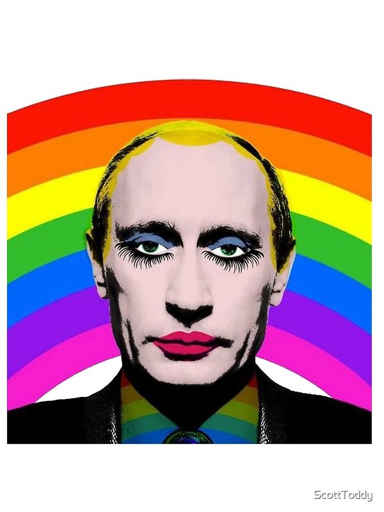 Vladimir Putin Payaso Gay de ScottToddy