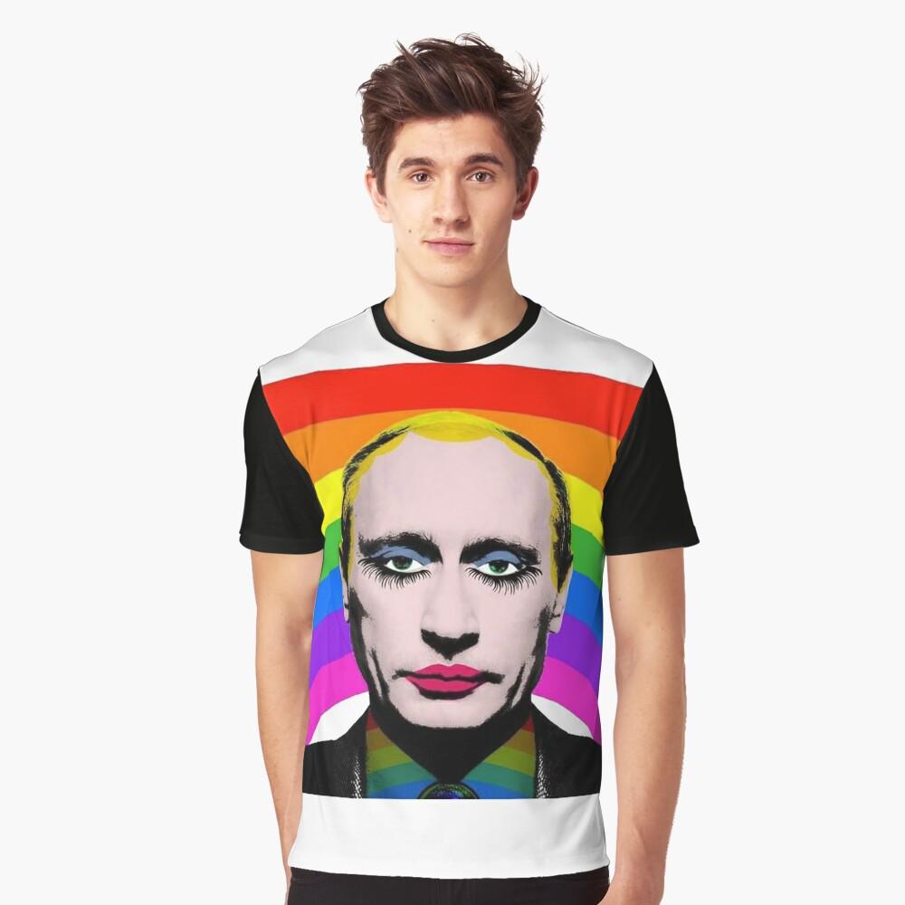 Vladimir Putin Payaso Gay Camiseta gráfica