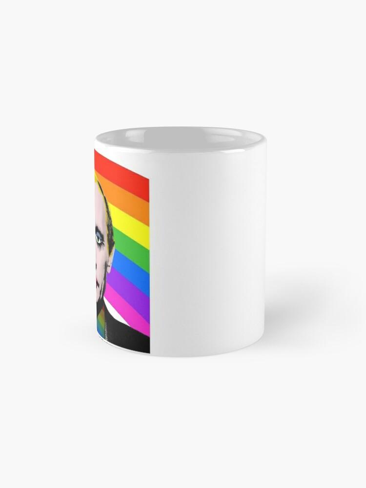 Vista alternativa de Taza Vladimir Putin Payaso Gay