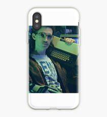 Retro Hackerman iPhone Case
