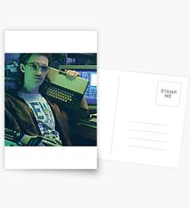Retro Hackerman Postcards