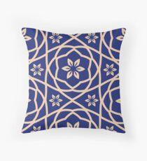 Moroccan Floral Throw Pillow
