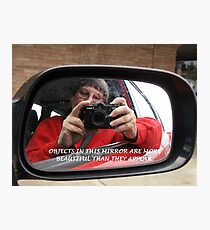 Silly Selfie Photographic Print