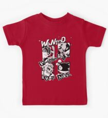 Persona 5 Wanted Posters Kids Tee