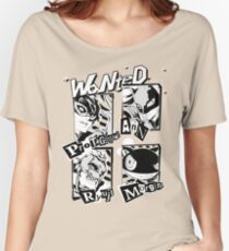Persona 5 Wanted Posters Women's Relaxed Fit T-Shirt