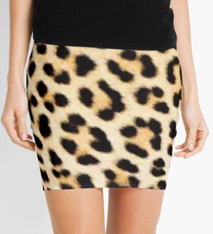 Lodge décor - Cheetah print Mini Skirt