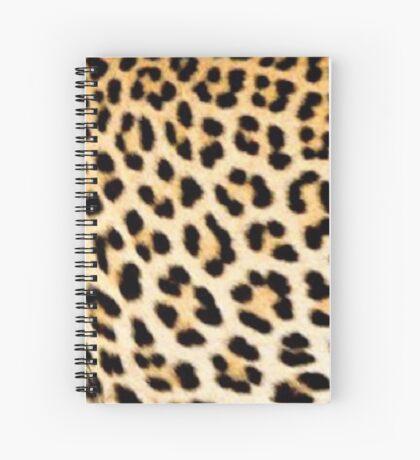 Lodge décor - Cheetah print Spiral Notebook
