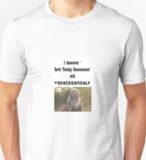 #spacegandalf, Earth Turning Consciousness Unisex T-Shirt