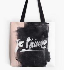 Je T'aime Brush Tote Bag