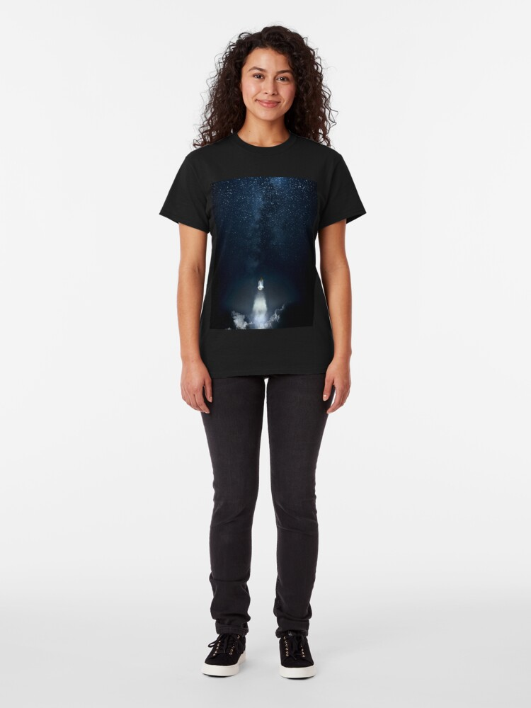 Alternate view of Into Space Classic T-Shirt