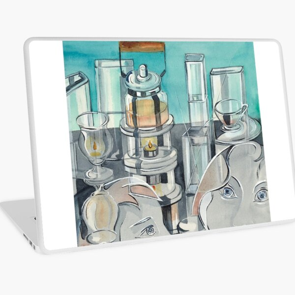 Tea for Two Laptop Skin