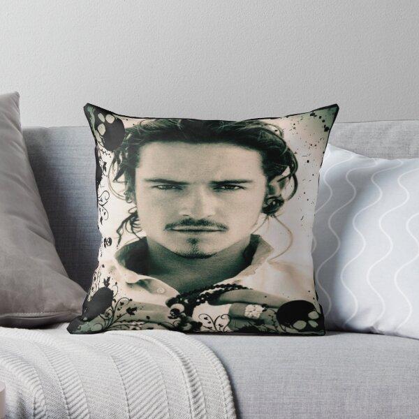 Orlando Bloom  Throw Pillow