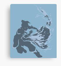 Minimalist Korra from Legend of Korra Canvas Print