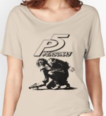 The Protagonist Persona 5 Women's Relaxed Fit T-Shirt
