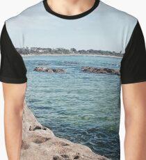 Currarong Rock Pools. Graphic T-Shirt