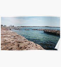 Currarong Rock Pools. Poster