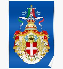 Kingdom of Italy Coat of Arms Poster