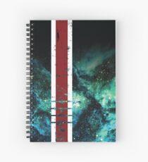 Mass Effect Tribute Armor Stripe Spiral Notebook