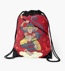 Monkey King Drawstring Bag