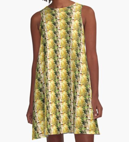 The Plight of our Honey Bees A-Line Dress