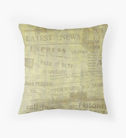 The Plight of our Honey Bees Throw Pillow