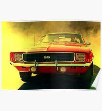 1969 Camaro Super Sport Poster