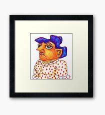 Mom - Betty Framed Print