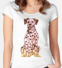 Dalmatian Women's Fitted Scoop T-Shirt
