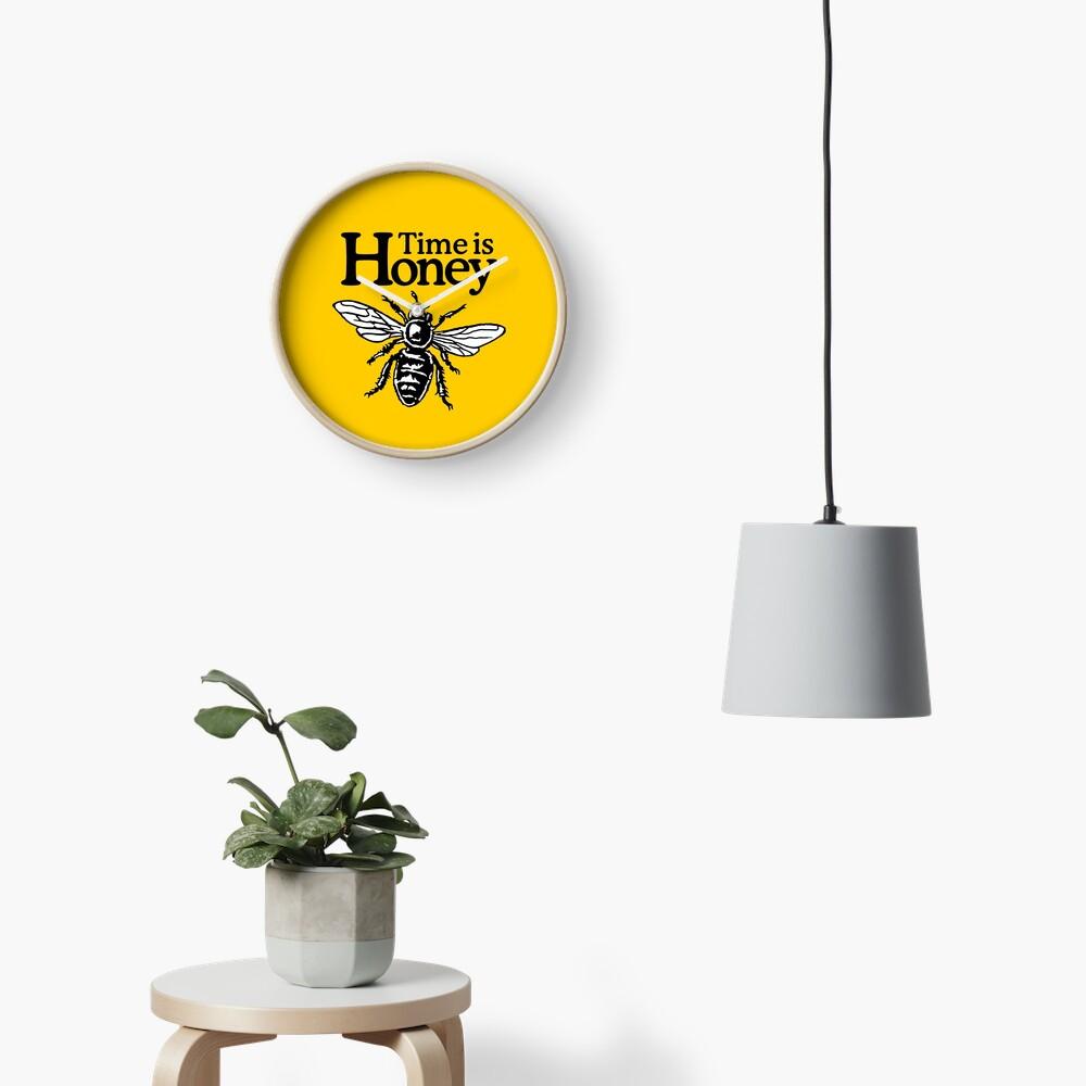 Time Is Honey Imker Spruch Uhr