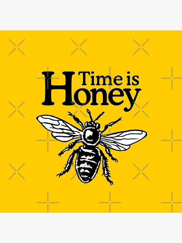 Time Is Honey Imker Spruch von theshirtshops