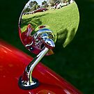 Classic auto show reflected by Celeste Mookherjee