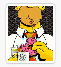 Homer Simpson with Goyard Sticker