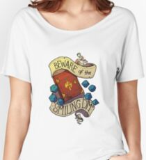 Beware of the Smiling Dungeon Master Women's Relaxed Fit T-Shirt