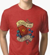 Beware of the Smiling Dungeon Master Tri-blend T-Shirt