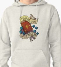 Beware of the Smiling Dungeon Master Pullover Hoodie