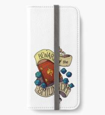 Beware of the Smiling Dungeon Master iPhone Wallet/Case/Skin