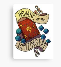 Beware of the Smiling Dungeon Master Canvas Print