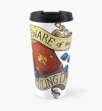Beware of the Smiling Dungeon Master Travel Mug