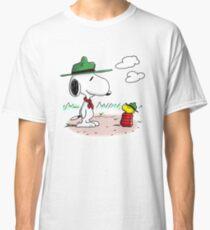 Camping Snoopy & Woodstock (Peanuts) Classic T-Shirt