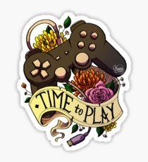 Zeit zum Spielen Sticker
