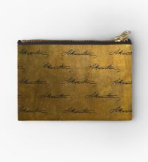 Hamilton Repeating Pattern Zipper Pouch